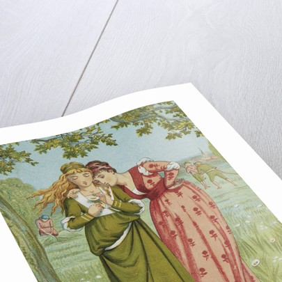 He Loves Me, He Loves Me Not by Walter Crane