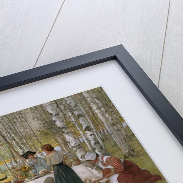Breakfast in the Open by Carl Larsson