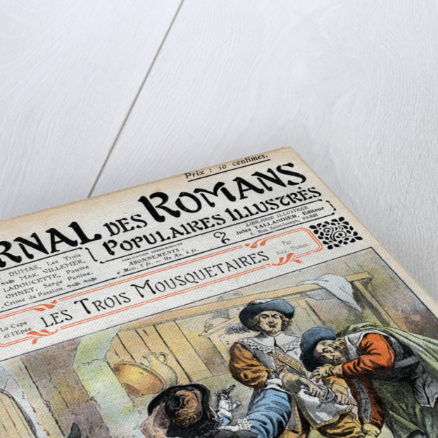 Magazine Illustration of the Three Musketeers by Corbis
