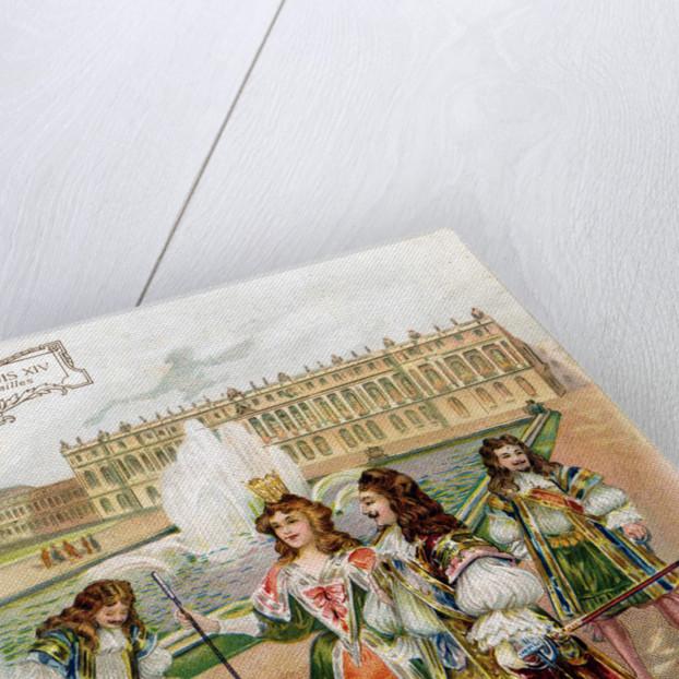 Illustration of Palais de Versailles During the Age of Louis XIV by Corbis