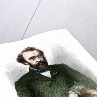 Portrait of Adolphe Sax by Corbis