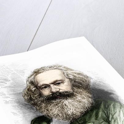 Portrait of Karl Marx by Corbis