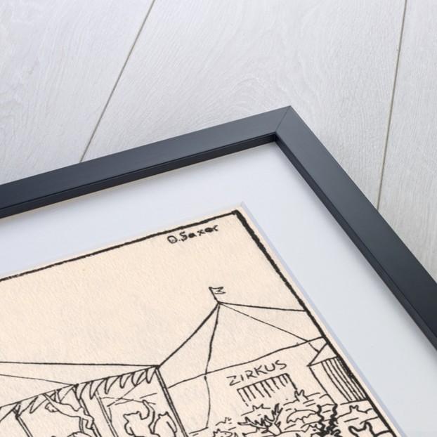 Illustration of a Circus Scene by Ernst Kreidolf