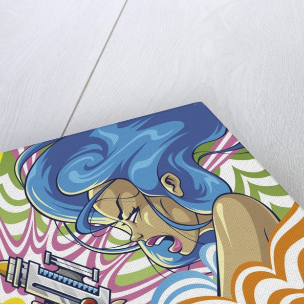 Anime Girl by Tristan Eaton