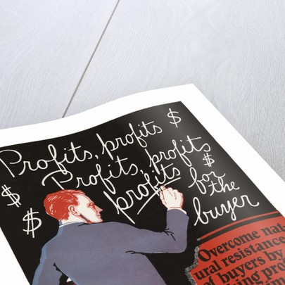 Profits, Profits Motivational Poster by Corbis