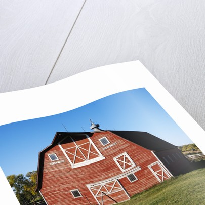 Red Barn by Corbis