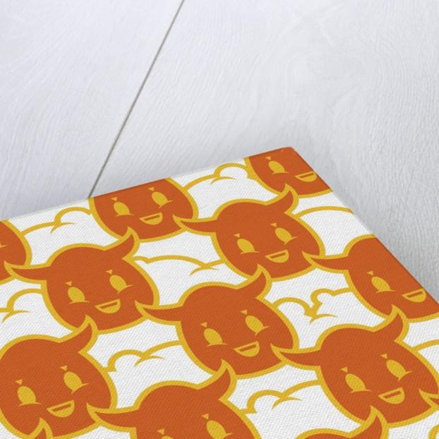 Devil Spuds Orange by Tristan Eaton