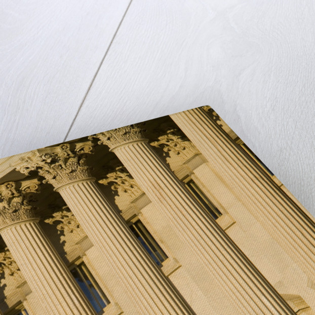Columns on Capitol Building by Corbis