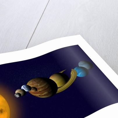 Solar System by Corbis