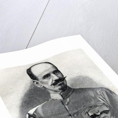 Newspaper Illustration of Fernand Foureau by Corbis