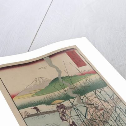 Sagami River by Ando Hiroshige