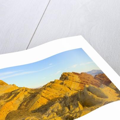 Sandstone Hills in Valley of Fire by Corbis