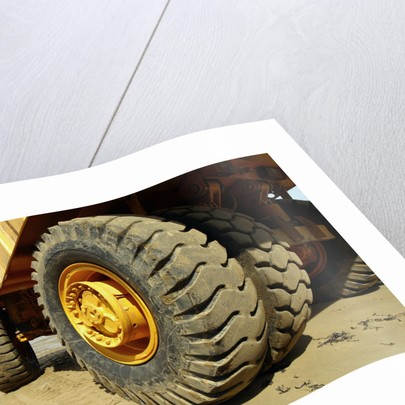 Tires on Construction Vehicle by Corbis