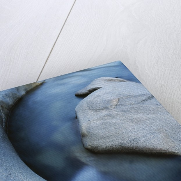 River Flowing Through Rocks by Corbis
