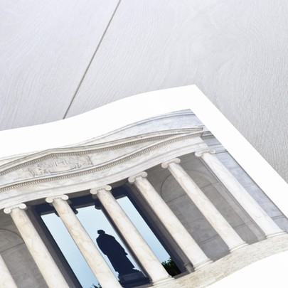 Detail of Jefferson Memorial by Corbis