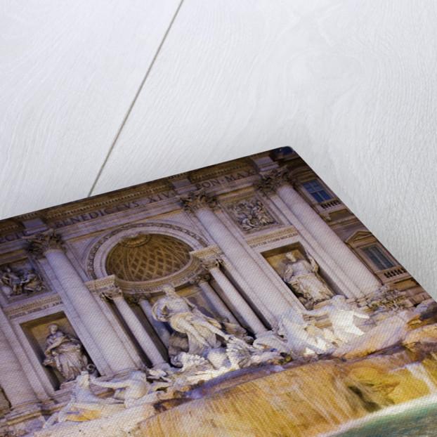 Trevi Fountain by Corbis