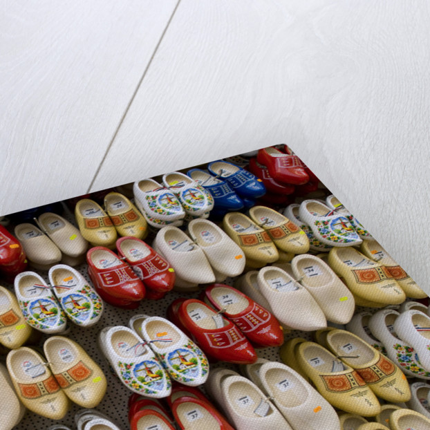 Wooden Shoes for Sale at the Bloemenmarkt by Corbis