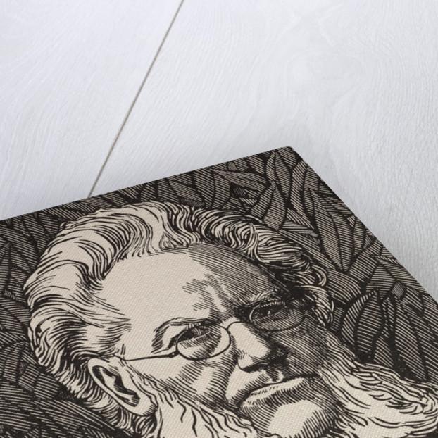 Portrait of Henrik Ibsen by Corbis