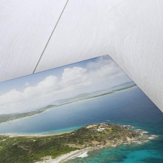 Buck Island and Tortola in British Virgin Islands by Corbis