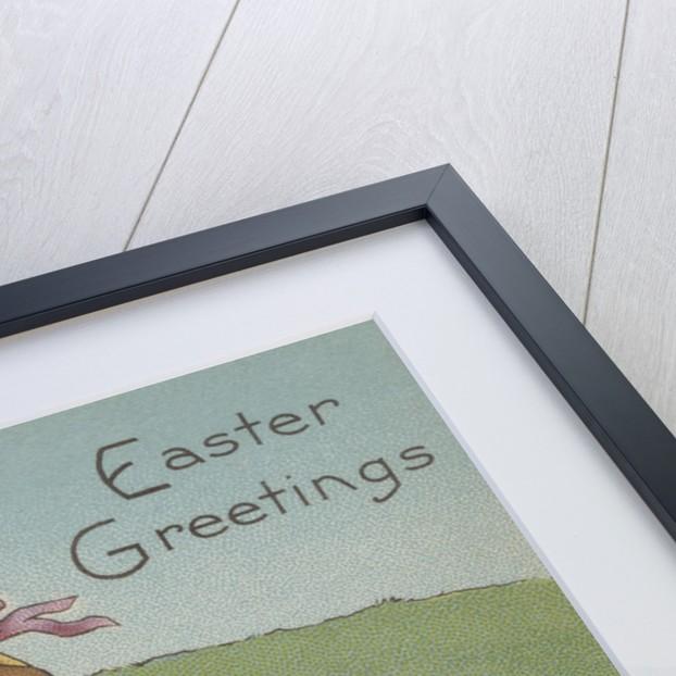 Easter Greetings Postcard by Corbis