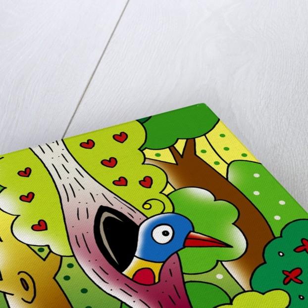 bird at home by Corbis