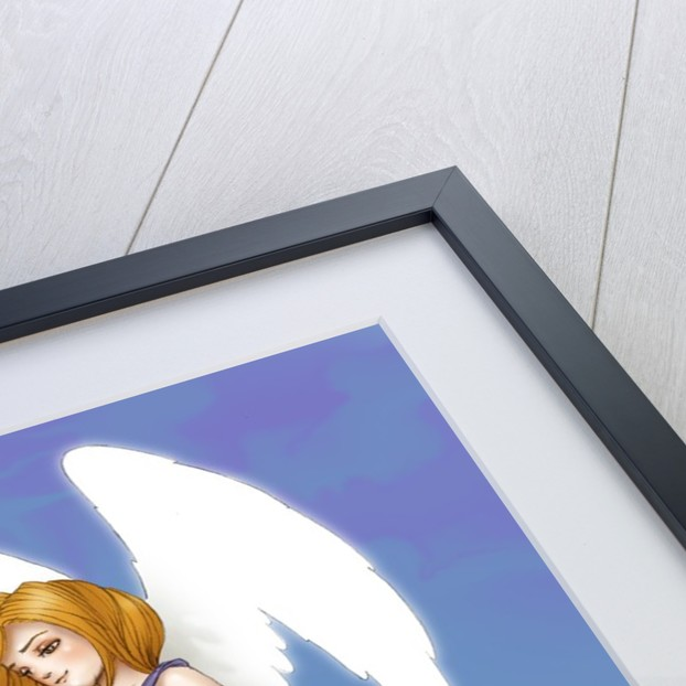 Angel In The Clouds by Corbis