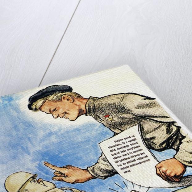 Communist Propaganda Poster by Corbis
