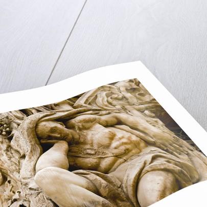 Detail of Sculpture on Palacio del Marques de Dos Aguas by Corbis