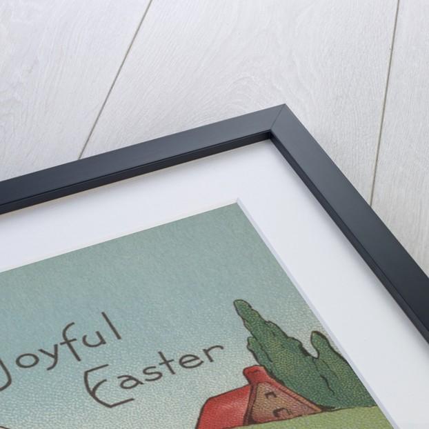 A Joyful Easter Postcard by Corbis
