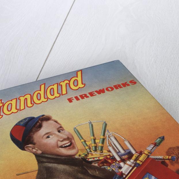 Standard Fireworks Magazine Advertisement by Corbis