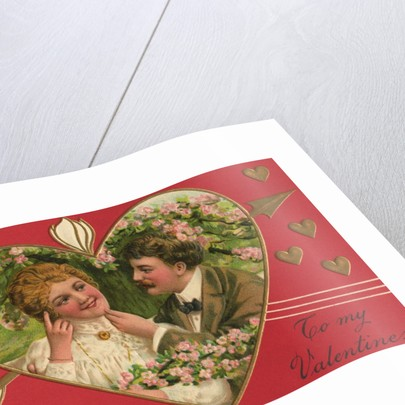 To My Valentine! Postcard by Corbis