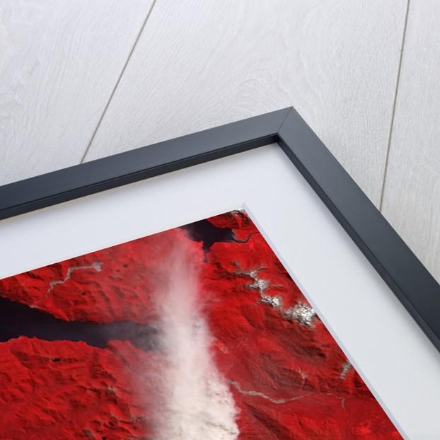 Chaiten Volcano Erupting by Corbis