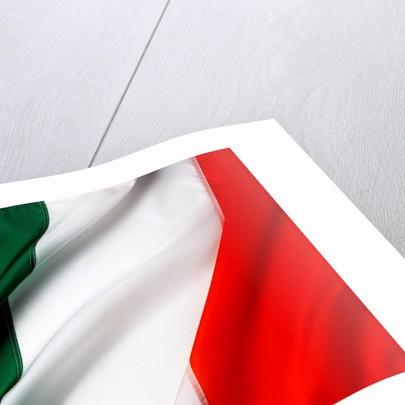 Irish flag by Corbis