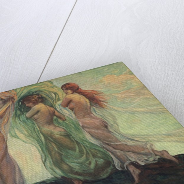Three Dancers by Louis F. Berneker