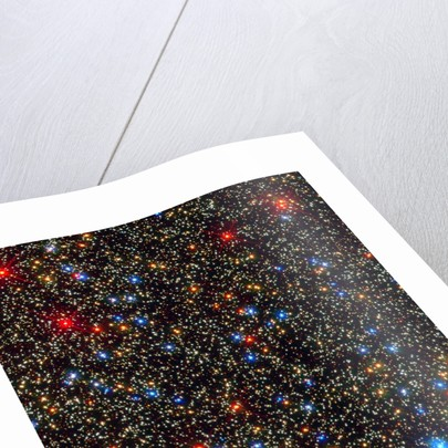 Globular Cluster Omega Centauri imaged with Hubble's WFC3 detector by Corbis
