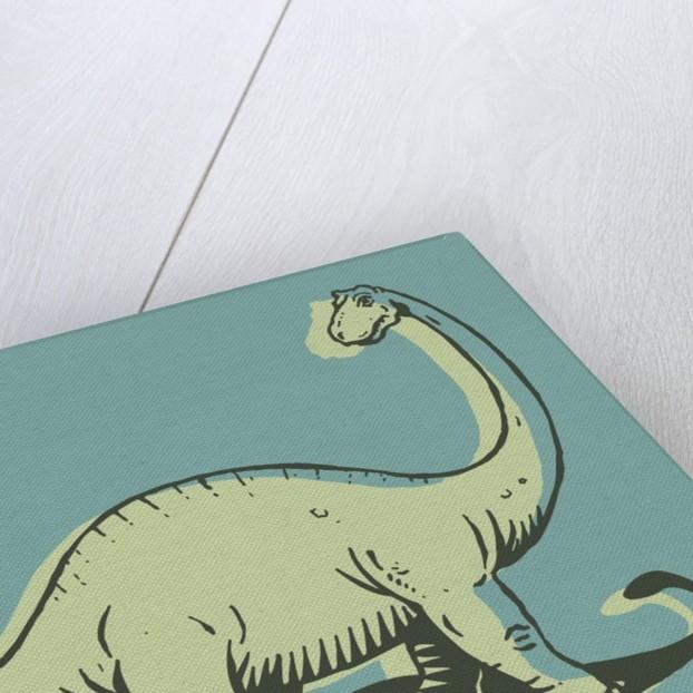 Brontosaurus by Corbis