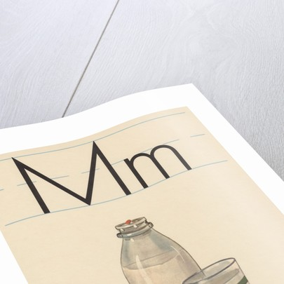 M is for milk by Corbis