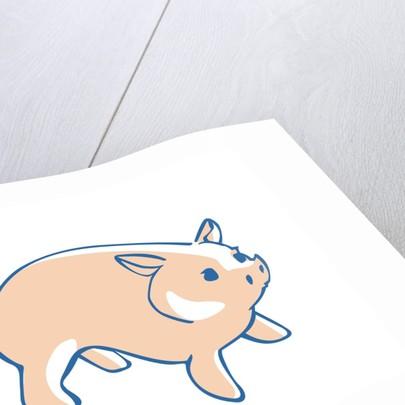 Cartoon Pig by Corbis