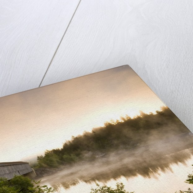 Covered Bridge on Kingston Penninsula, New Brunswick, Canada. by Corbis