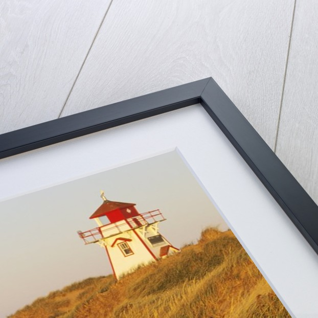 Cove Head Lighthouse, Prince Edward Island National Park, Prince Edward Island, Canada by Corbis