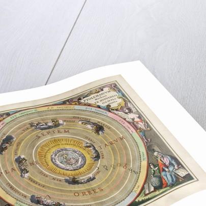 Plate 1 from Harmonia Macrocosmica by Andreas Cellarius