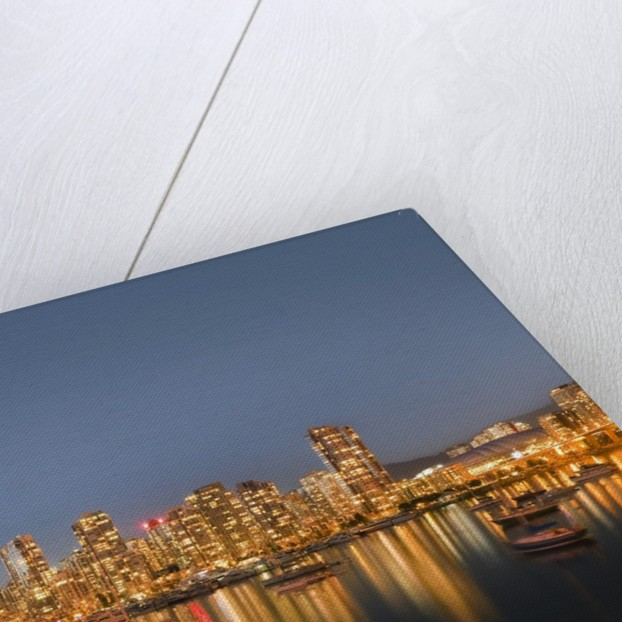 Vancouver skyline by Corbis
