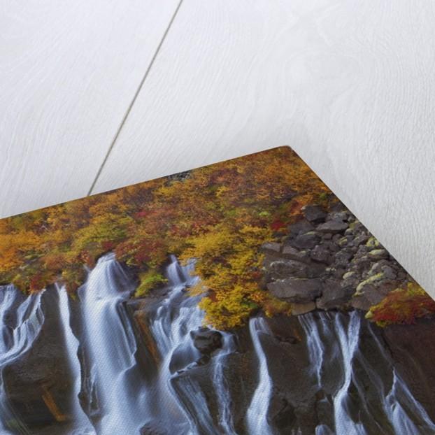 Hraunfossar Waterfall by Corbis