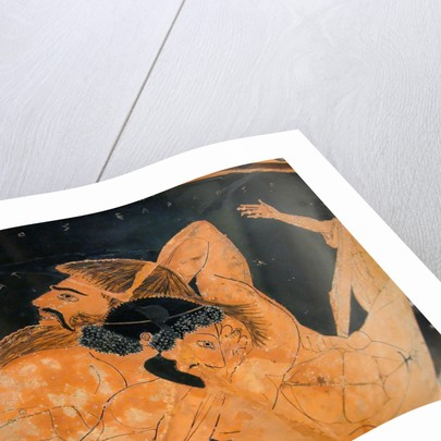 Detail of red-figured calix krater by Euphronios and Euxitheos