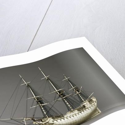 Napoleonic prisoner of war ship model by Corbis