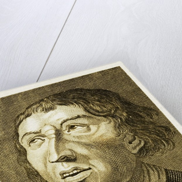 Engraving in a physiognomy book by Corbis