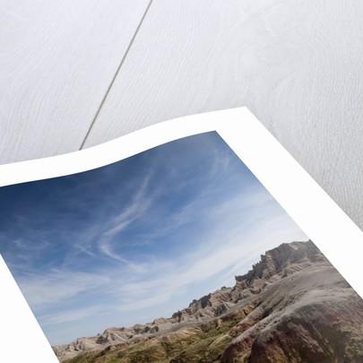 Badlands National Park in South Dakota by Corbis