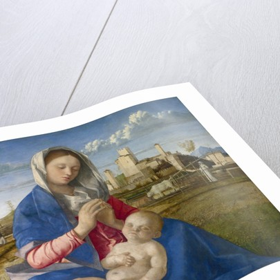 madonna of the meadow bellini