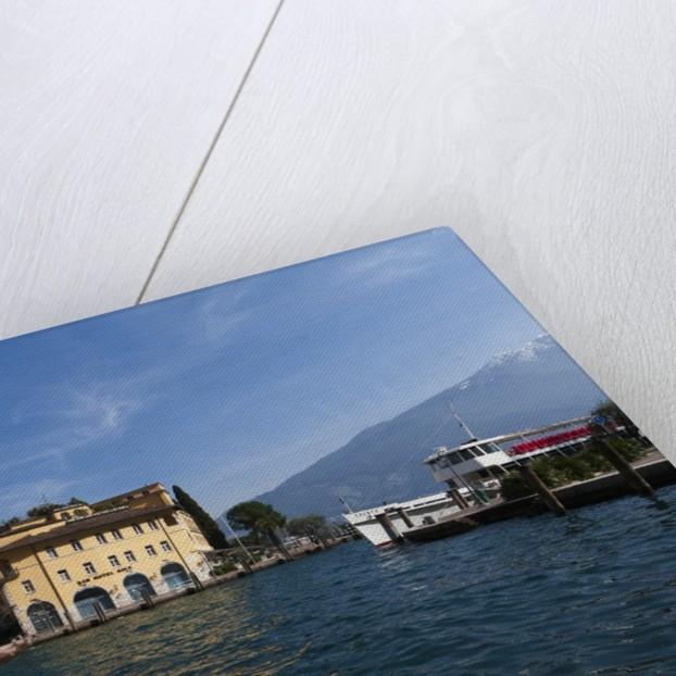 Riva del Garda waterfront by Corbis
