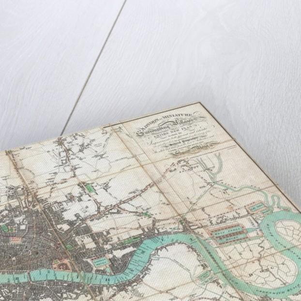 London in Miniature by Edward Mogg